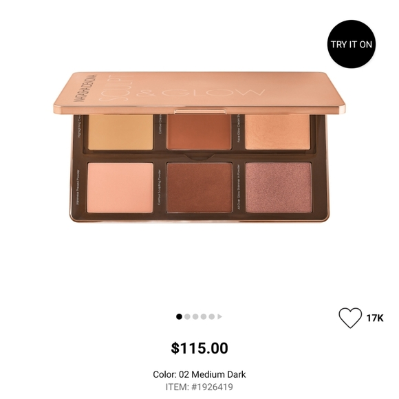 Natasha Denona highlight and contour palette
